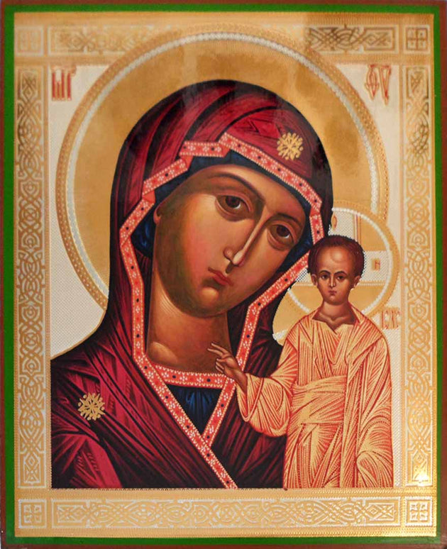 Kazan Mother of God Rublev Style