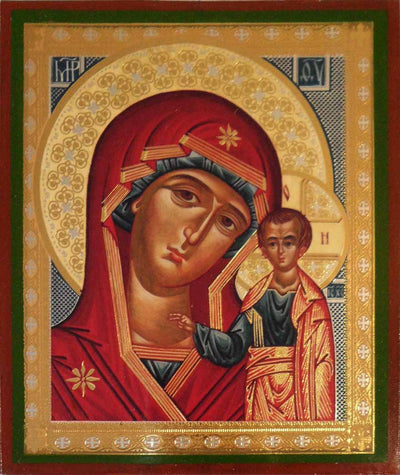 Kazan Mother of God Russian