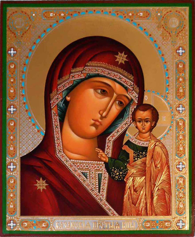 Kazan Mother of God icon new