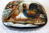 Lacquer Box Courting Birds