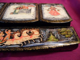 Lacquer Box Gossip in Village 02