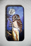 Lacquer Box Owl and Moon
