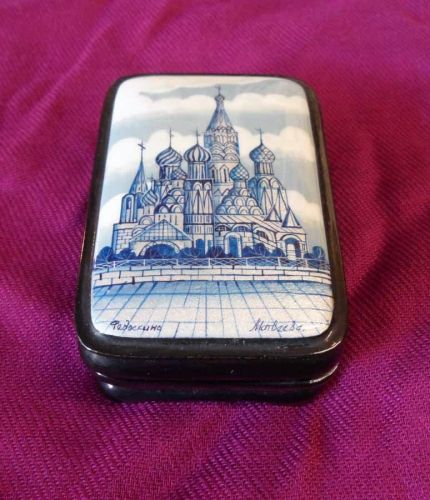 Lacquer Box Saint Basil Cathedral
