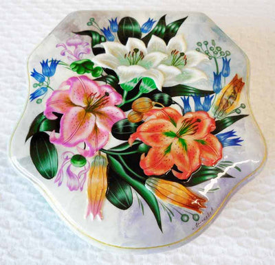 Lacquer Box Summer Floral Dreams