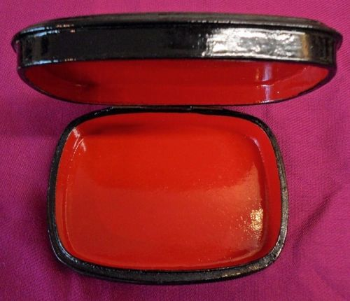 Lacquer Box Troika Red 01