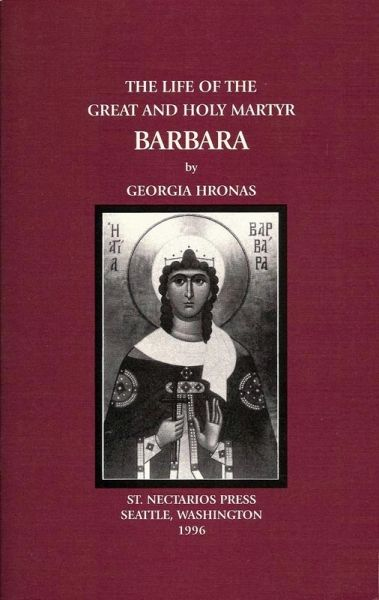 Life Barbara Great Martyr