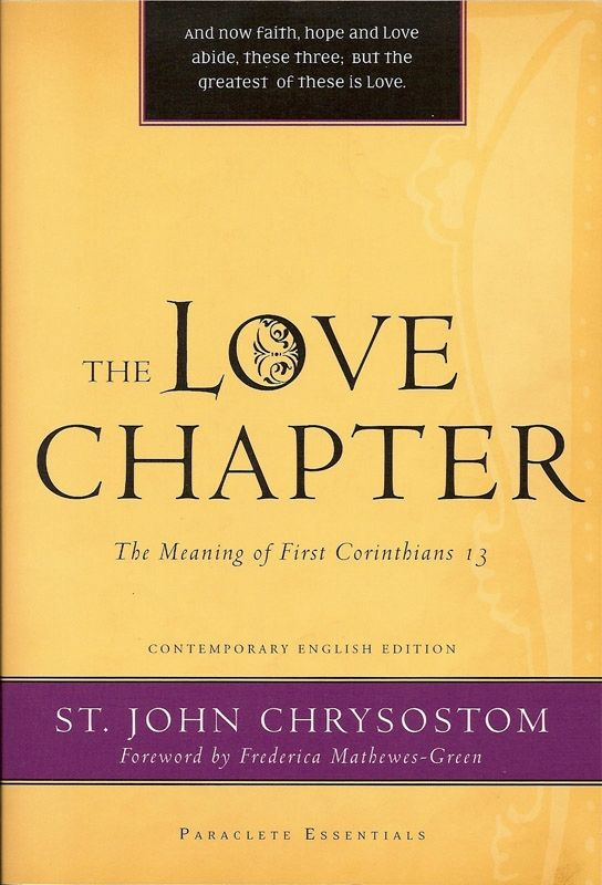 Love Chapter I Cor 13