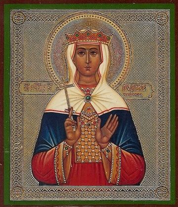 Ludmilla Czech Saint and Martyr