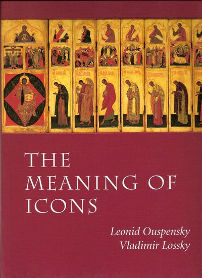 Meaning of Icons hardcover
