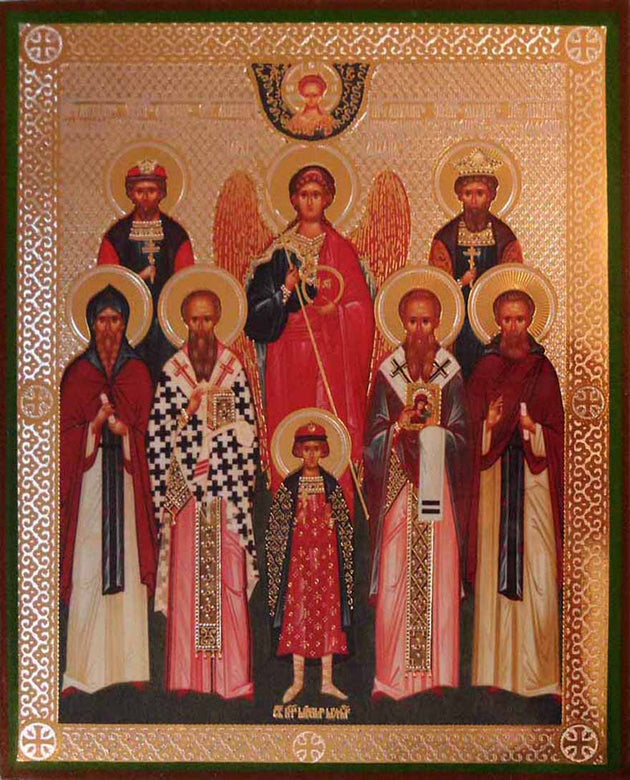 Michael Archangel Synaxis of Saint Michaels