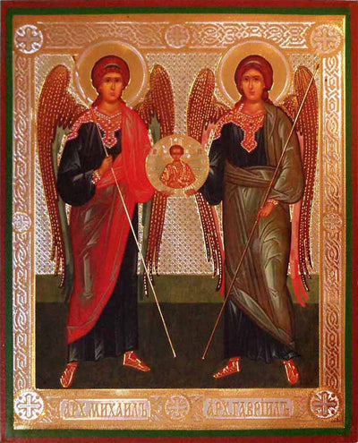 Michael and Gabriel Archangels