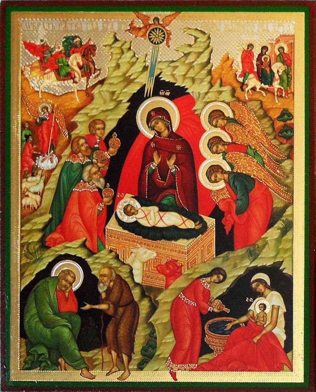 Nativity of Christ new icon