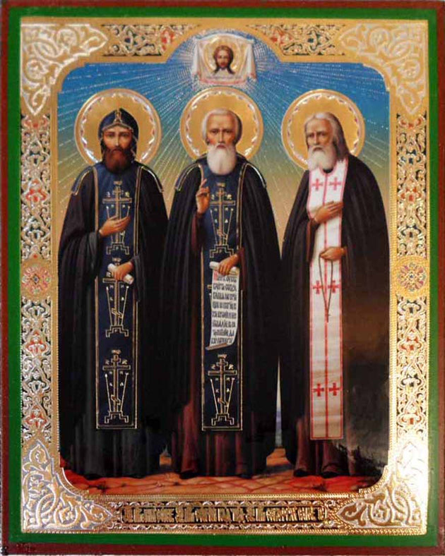 Nilus Sergius of Radonezh and Seraphim of Sarov