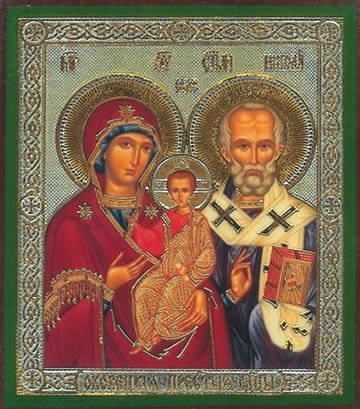 Okovitskaya with Saint Nicholas