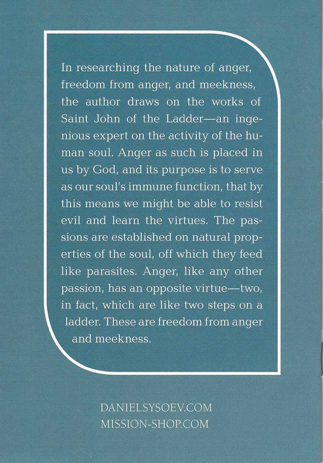On Meekness and Freedom From Anger
