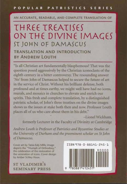 On the Divine Images