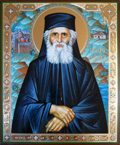Paisios Saint of Mt Athos