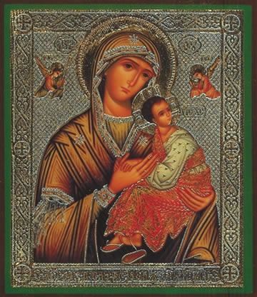 Passion Mother of God icon
