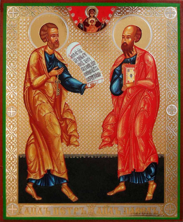 Peter and Paul Apostles icon