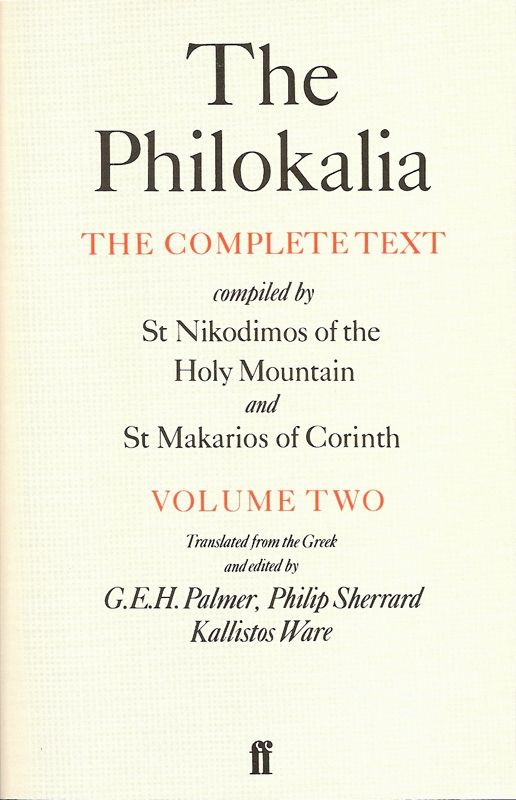 Philokalia Volume 2