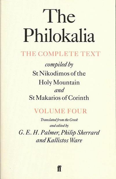 Philokalia Volume 4