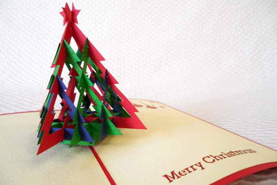Pop Up Card 046 Christmas Tree