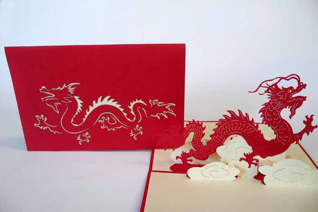 Pop Up Card 057 Dragon