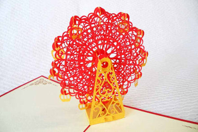 Pop Up Card 099 Ferris Wheel