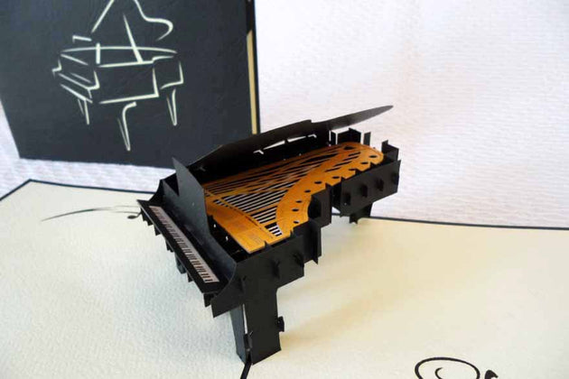 Pop Up Card 107 Grand Piano