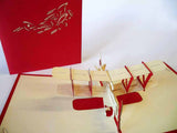 Pop Up Card 128 Biplane