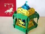 Pop Up Card 129 Carousel