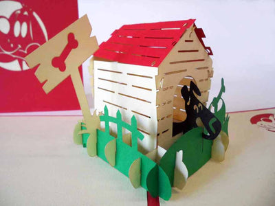 Pop Up Card 130 Doghouse