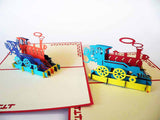 Pop Up Card 131 Train