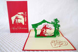 Pop Up Card 144 Nativity Scene