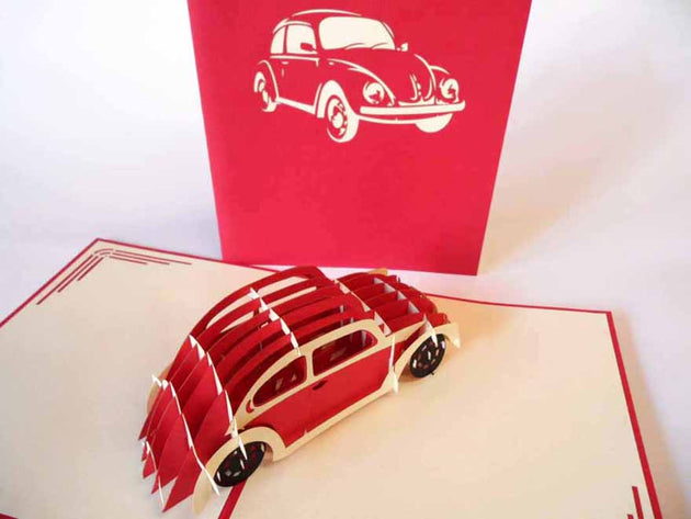 Pop Up Card 158 Volkswagon Bug