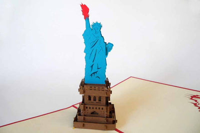 Pop Up Card 167 Statue of Liberty
