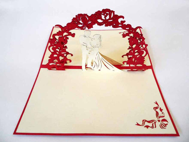 Pop Up Card 171 Wedding Couple