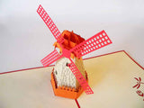 Pop Up Card 177 Windmill