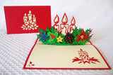 Pop Up Card 211 Candles