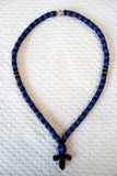 Mount Athos Prayer Rope 100 BLU BLK BLKCB