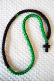 Mount Athos Prayer Rope 100 GRN BLK C1