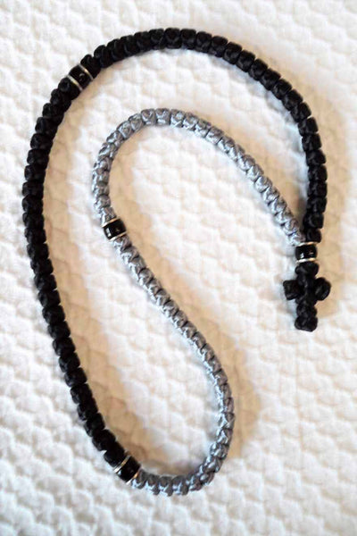 Mount Athos Prayer Rope 100 GRY BLK C1