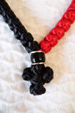 Mount Athos Prayer Rope 50 RED BLK C1