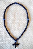 Mount Athos Prayer Rope 100 BLUDK BLUbd C