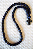 Mount Athos Prayer Rope 100 BLU BLK BLKC3 Bbk