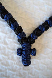 Mount Athos Prayer Rope 100 BLU BLK BLUC CLRbds