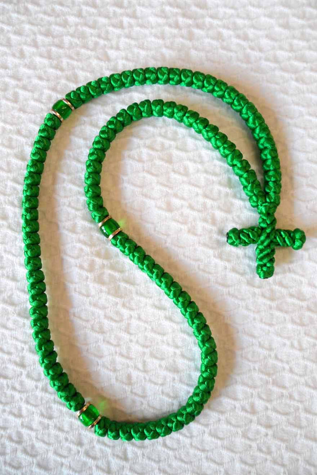 Mount Athos Prayer Rope 100 GRN GRNbd C