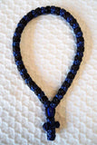 Mount Athos Prayer Rope 50 BLU BLK BUb BKb BUC