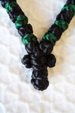 Mount Athos Prayer Rope 50 GRN BLK GRNbd C