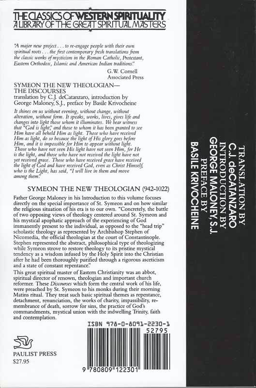Symeon the New Discourses